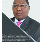 Business Eswatini mourns the sad and untimely passing on of the Rt. Hon Prime Minister.