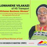 Tribute to Mrs. Dudu Cynthia Lomanene Vilakazi of HS Transport – A proud member of Business Eswatini